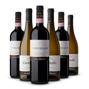 Confezione 6 bottiglie di Selezione Miste - Cerulli Spinozzi