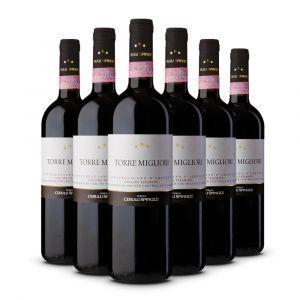 Confezione 6 bottiglie di Torre Migliori Colline Teramane Montepulciano d'Abruzzo Docg - Cerulli Spinozzi