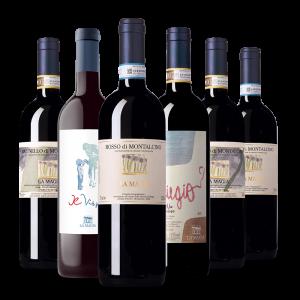 Confezione 6 Bottiglie Selezione Rossi - La Màgia