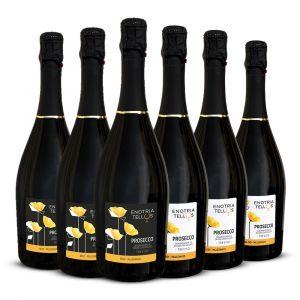 Confezione Papaveri gialli – 6 bottiglie – Enotria Tellus