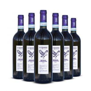 Refosco dal Peduncolo Rosso delle Venezie Doc Lison-Pramaggiore – 6 bt – La Frassina