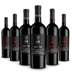 Confezione 6 bottiglie Vini Toscani – Scuderia Italia