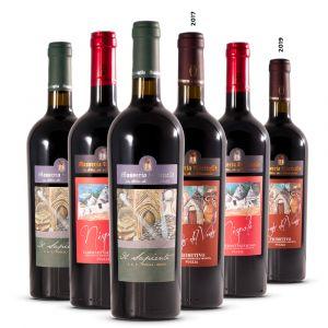 Confezione 6 Bottiglie  Degustazione Rossi della Puglia - Masseria Torricella