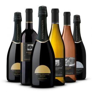 Confezione 6 Bottiglie  Degustazione Mista Trentino - Tenute Sajni Fasanotti