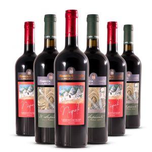 Confezione 6 Bottiglie  Nispoli e Sapiente - Masseria Torricella