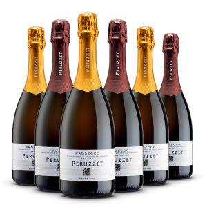 Confezione 6 bottiglie Prosecco - Casa Roma Peruzzet