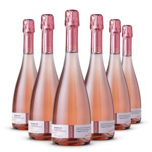 Confezione 6 bottiglie Prosecco Rosé – Paladin