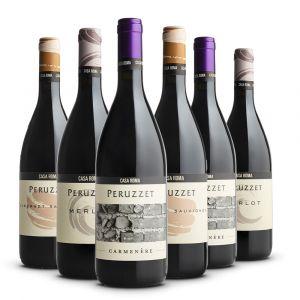Confezione 6 bottiglie Rossi Degustazione - Casa Roma Peruzzet