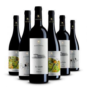 Confezione 6 bottiglie di Rossi - Le Sincette