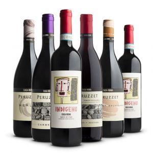 Confezione 6 bottiglie Rossi - Casa Roma Peruzzet