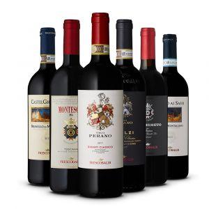 Confezione 6 bottiglie Selezione Degustazione - Frescobaldi