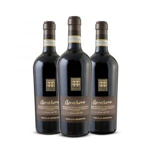 Confezione Amarone – 3 bottiglie Cecilia Beretta