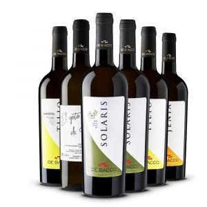 Confezione 6 Bottiglie Selezione Bianchi - De Bacco