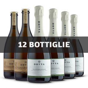 Confezione Degustazione – 12 bottiglie – Cantina Dotta