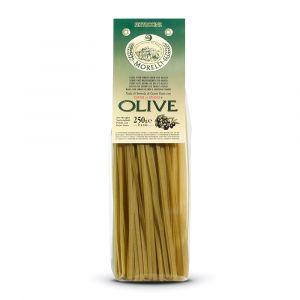 Fettuccine alle Olive Verdi – 4x250gr – Pastificio Morelli