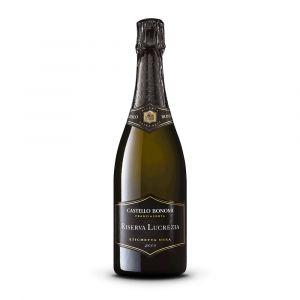 Franciacorta extra brut cuvée Lucrezia etichetta nera Docg 2008 – Castello Bonomi
