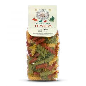 Fusilloni Italia con Pomodoro Bietola e Spinaci – 2x500gr – Pastificio Morelli