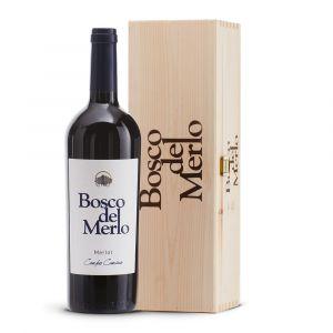 Magnum Campo Camino Melrot Riserva Doc - Cassetta legno - Bosco del Merlo