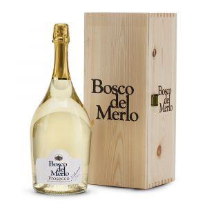 Magnum Prosecco Doc Brut Millesimato - Cassetta Legno - Bosco del Merlo