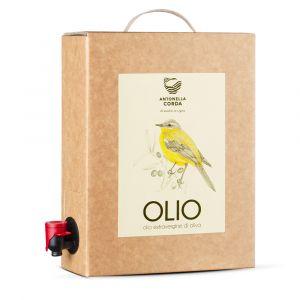 Olio extravergine d'oliva - Bag in Box 3l – Antonella Corda