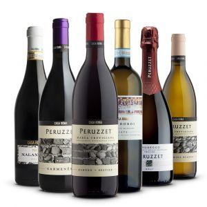 Confezione 6 bottiglie Miste Degutazione - Casa Roma Peruzzet