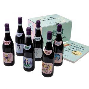 Confezione Limited Edition Valpolicella Superiore Mizzole Doc 2017 –6 bottiglie,Libro – Cecilia Beretta