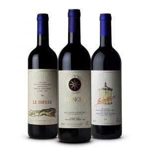 Confezione 3 bottiglie Degustazione Tenuta San Guido