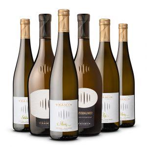 Confezione 6 bottiglie Degustazione Bianchi Alto Adige - Tramin