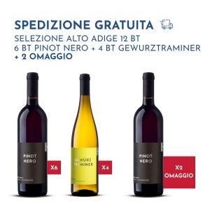 Selezione Alto Adige – 10 bottiglie + 2 omaggio – Erste Neue