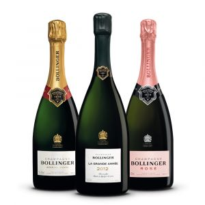 Confezione 3 bottiglie Degustazione Bollinger