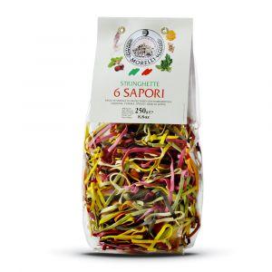Stringhette 6 Sapori – 4x250gr – Pastificio Morelli