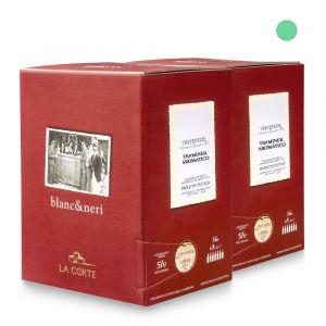 2 Bag in Box Traminer aromatico Doc Tre Venezie 5lt - Pitars