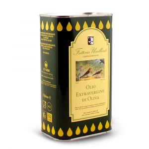 Olio Extra Vergine di Oliva in latta 1 lt - Fattoria Uccelliera