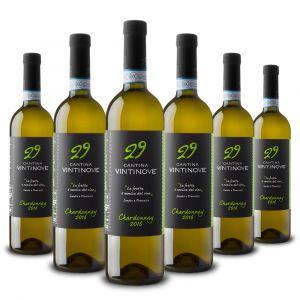 Confezione 6 bottiglie Chardonnay DOC – Vintinove