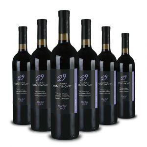 Confezione 6 bottiglie Merlot DOC – Vintinove