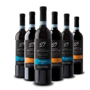 Confezione 6 bottiglie Rossa Arcumbé DOC e Karantò DOC – Vintinove