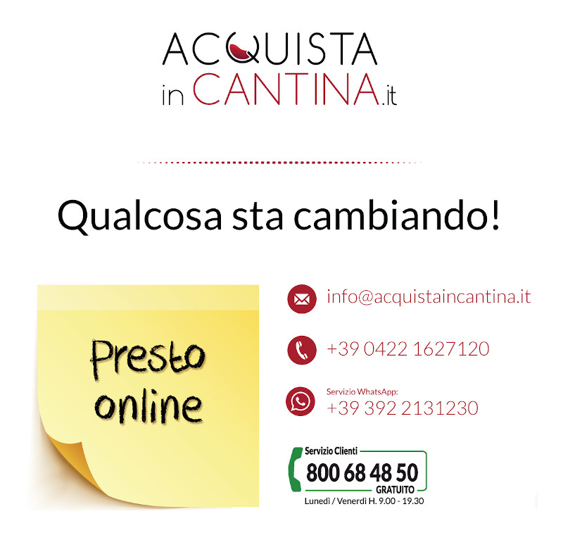 Acquista in cantina - Cooming soon