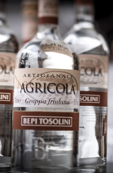 Bottiglia Grappe Bepi Tosolini