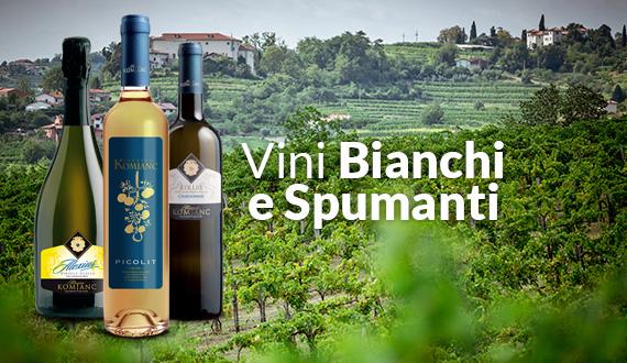 Vini bianchi e spumanti