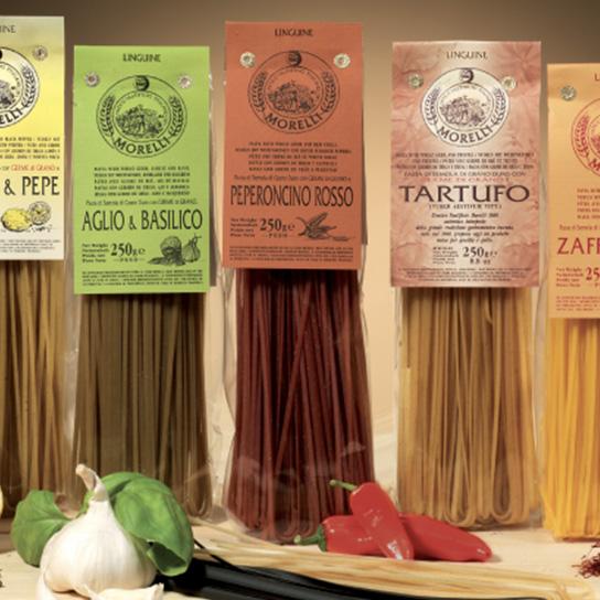 La pasta aromatica